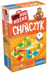 Gra Planszowa Chińczyk Wersja Podróżna Granna 00208