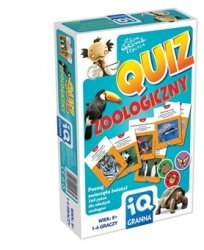 Gra IQ Quiz zoologiczny Granna 00203