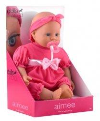 Lalka bobas Aimee 46 cm Dolls World 08733