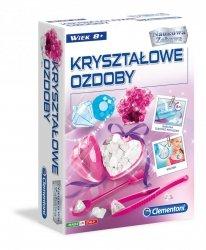 Naukowa Zabawa Kryształowe Ozdoby Clementoni 50070