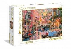 Puzzle Wieczorny Zachód Słońca w Wenecji 6000 el. Clementoni 36524