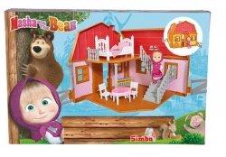 Dwupoziomowy Domek Maszy Masza i Niedźwiedź Simba 9301038
