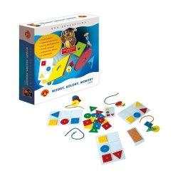 Gra Edukacyjna Sowa Mądra Głowa Wzory Kolory Memory Maxi Alexander 0513
