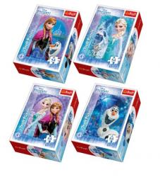 Puzzle Frozen Kraina Lodu W świecie Anny i Elsy 54 el. Trefl 54173