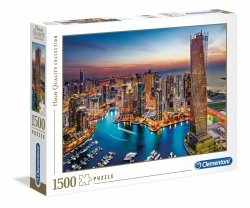 Puzzle Dubai Marina 1500 el. Clementoni 31814