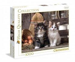 Puzzle Urocze Kotki 1000 el. Clementoni 39340