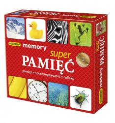 Gra Pamięciowa Super Pamięć Memory Adamigo 00736