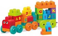 Pociąg zabawka edukacyjna ABC First Builders Mega Bloks Fisher Price DXH35