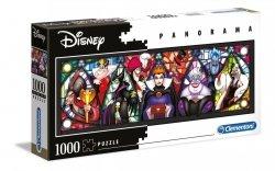 Puzzle Panoramiczne Złoczyńcy Disneya 1000 el. Clementoni 39516