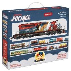 Puzzle Układam pociągi CzuCzu 49071