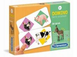 Domino Zwierzęta na Farmie Clementoni 18069