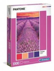 Puzzle Pantone Lawendowy Zachód Słońca 1000 el. Clementoni 39493