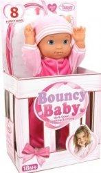 Lalka skacząca Bouncy Baby 36 cm Brimarex 93720
