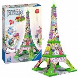 Puzzle 3D Wieża Eiffla 3D Pop Art 216 el. Ravensburger 125982