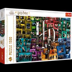 Puzzle Harry Potter Na Przestrzeni Filmów 1000 el. Trefl 26185