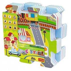 Puzzle piankowe City Trefl 60696