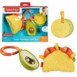 Taco Sensoryczny zestaw zawieszek Fisher Price FXC05