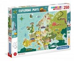Puzzle Niesamowite Miejsca w Europie 250 el. Clementoni 29062