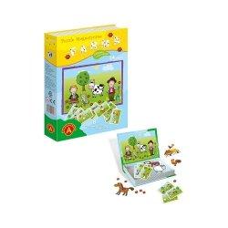 Puzzle Magnetyczne Farma 24 el. Alexander 0759