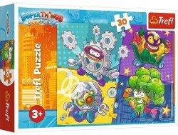 Puzzle Superbohaterowie 30 el. Super Things Trefl 18278