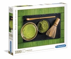 Puzzle Herbata Matcha 1000 el. Clementoni 39522