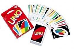 Gra Łamigłówki karty UNO Mattel W2085