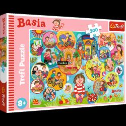 Puzzle Wesoły Dzień Basi 300 el. Trefl 23009