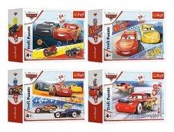 Puzzle Mini Szalony Wyścig 54 el. Cars 3 Auta 3 Trefl 54192