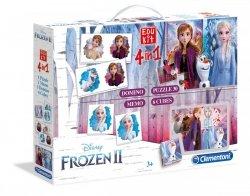 Edukit 4w1 Frozen 2 Kraina Lodu 2 Clementoni 18059