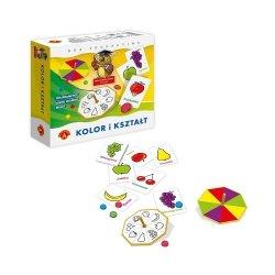 Gra Edukacyjna Sowa Mądra Głowa Kolor i Kształt Alexander 0397