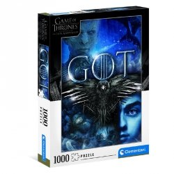 Puzzle Gra o Tron Game of Thrones 1000 el. Clementoni 39589