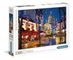 Puzzle Paryż Montmartre 1500 el, Clementoni 31999