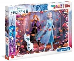 Puzzle Hologramowe Frozen 2 Kraina Lodu 2 104 el. Clementoni 20161