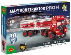 Zestaw konstrukcyjny Mały Konstruktor 10w1 Premium Truck Alexander 1634
