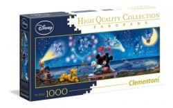 Puzzle Panoramiczne Myszka Miki i Minnie 1000 el. Clementoni 39449