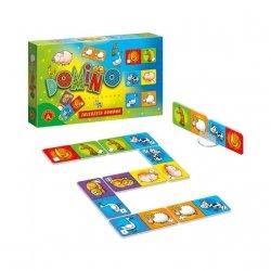 Gra Logiczna Domino Obrazkowe Zwierzęta Domowe Alexander 0208