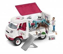 Mobilna lecznica dla zwierząt Schleich 42370