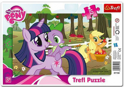 Puzzle Ramkowe My LIttle Pony w Sadzie 15 el. Trefl 31155