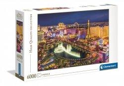 Puzzle Las Vegas 6000 el. Clementoni 36528