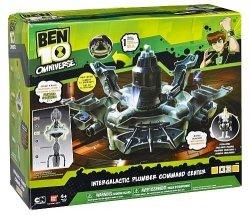 Figurki Ben 10 Interaktywne galaktyczne Centrum dowodzenia DX Omniverse Zabawki z bajki Bandai 36245