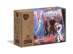 Puzzle Frozen 2 Future 3x48 el. Clementoni 25255