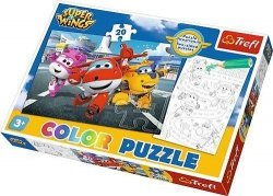 Puzzle Color Gotowi do odlotu 20 el. Trefl 36519