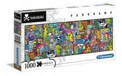 Puzzle Panoramiczne Tokidoki 1000 el. Clementoni 39568