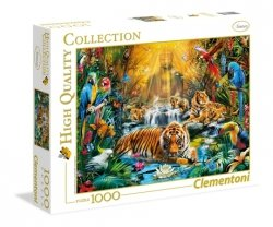 Puzzle Mistyczne Tygrysy 1000 el. Clementoni 39380