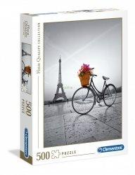 Puzzle Romantyczna Promenada w Paryżu 500 el. Clementoni 35014