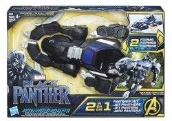 Czarna Pantera Pojazd Bojowy Marvel 2w1 Hasbro E0879