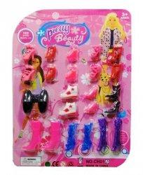 Buty dla Lalki Barbie 12 par