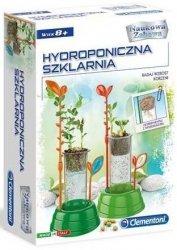 Zestaw doświadczalny Hydroponiczna szklarnia Naukowa Zabawa Clementoni 50516