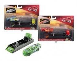 Hot Wheels Pojazd + wyrzutnia Disney Auta Mattel FLH75