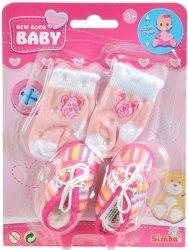Buciki i skarpetki New Born Baby Simba 5560844